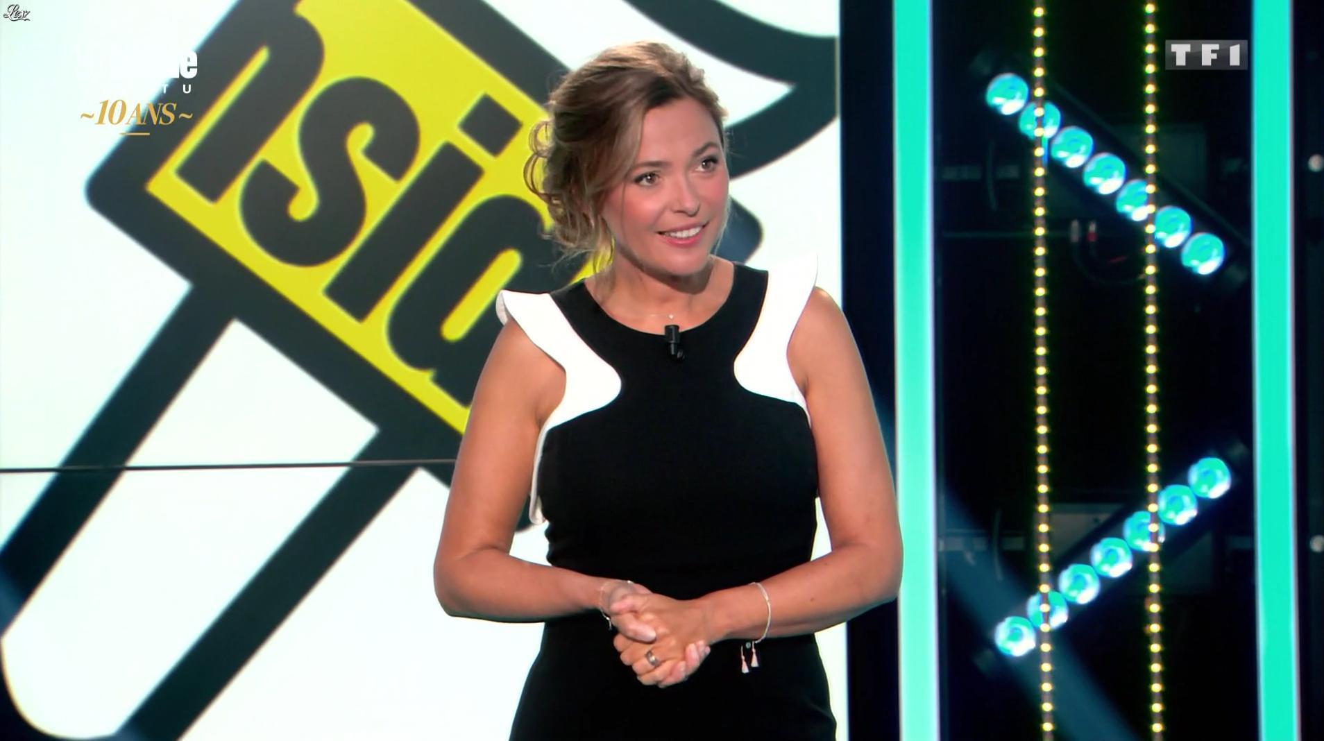 Sandrine Quétier dans 50 Minutes Inside. Diffusé à la télévision le 16/09/17.