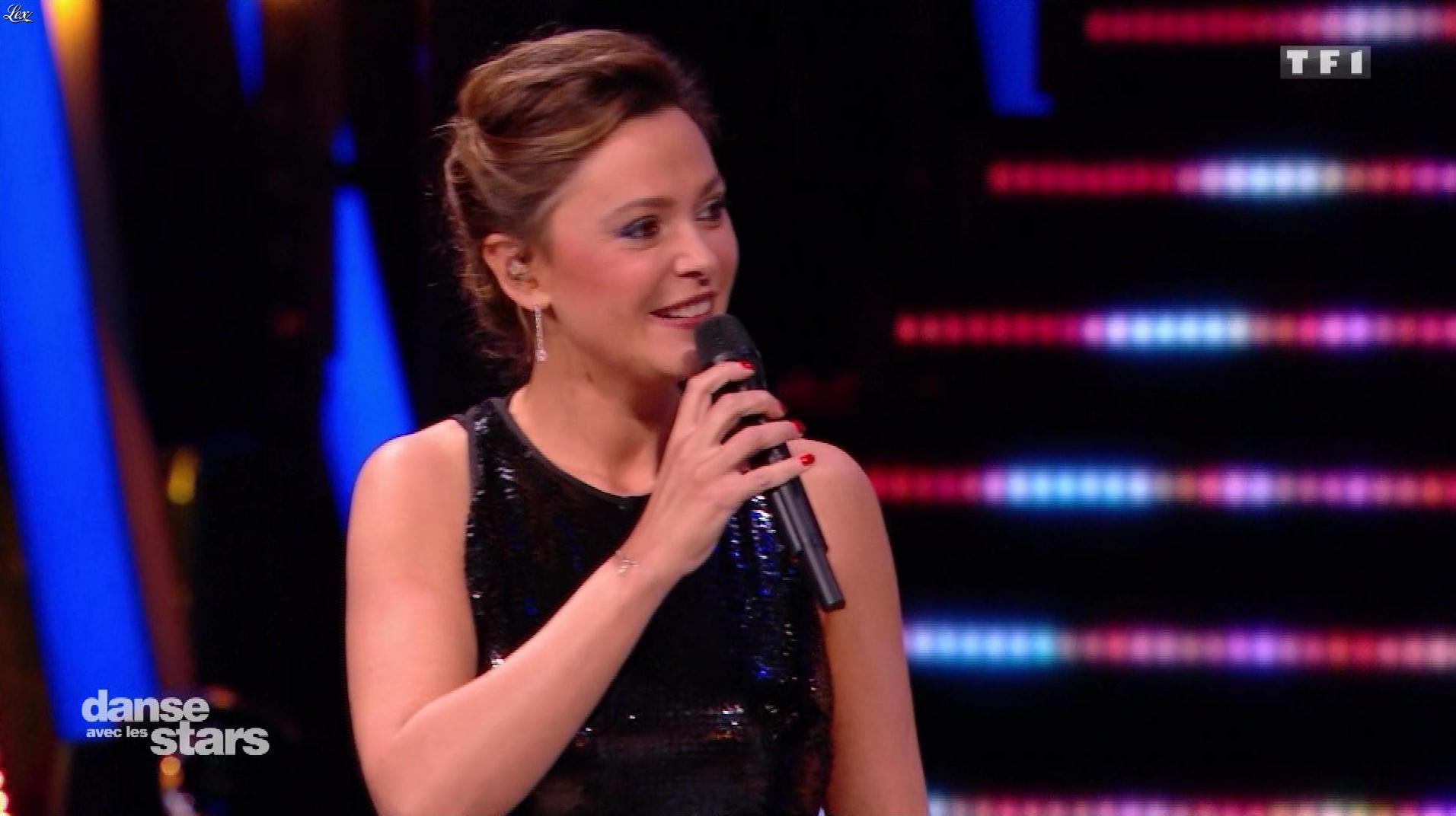 Sandrine Quétier dans Danse avec les Stars. Diffusé à la télévision le 18/11/17.