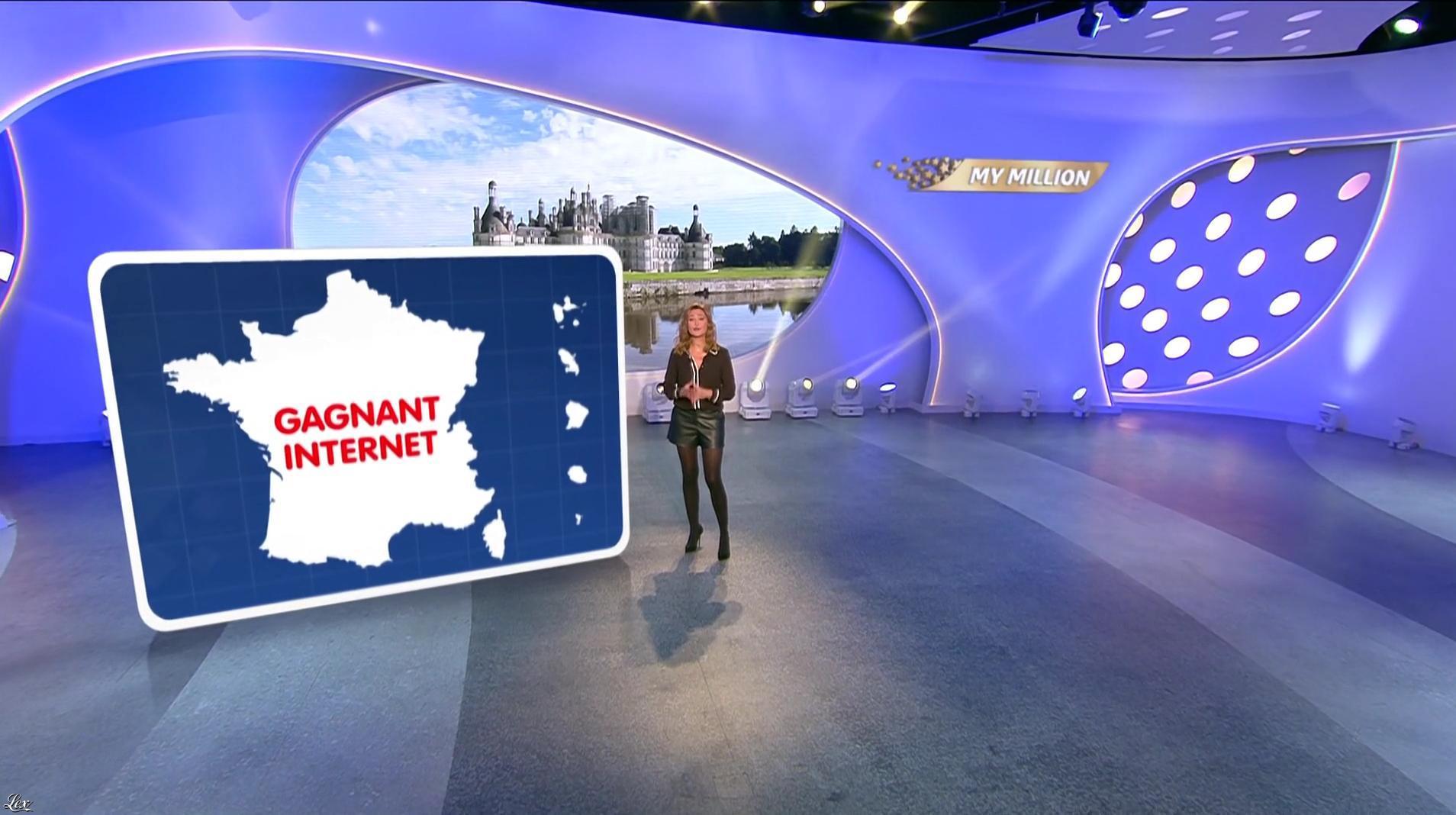 Sandrine Quétier dans My Million. Diffusé à la télévision le 03/10/17.