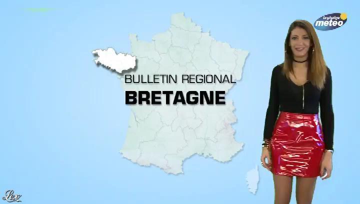 Virgilia Hess dans la Chaine Meteo. Diffusé à la télévision le 15/11/17.