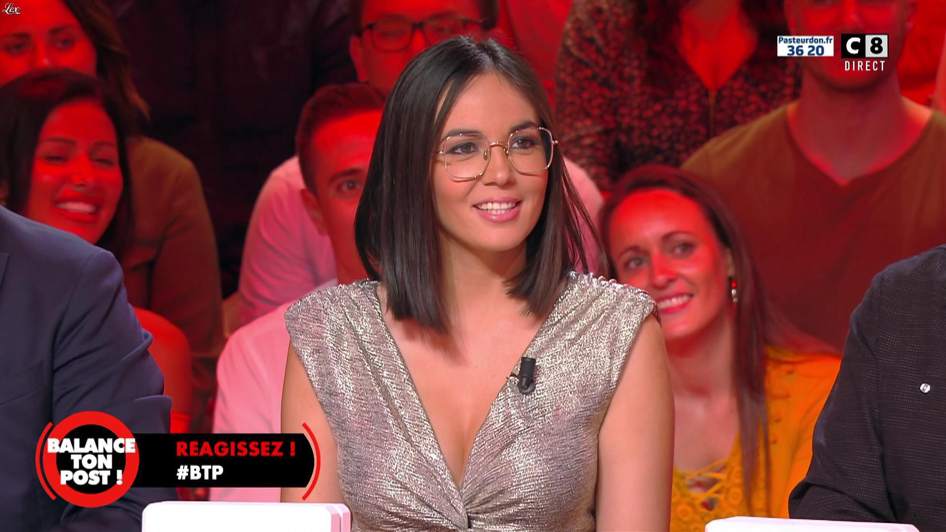 Agathe Auproux dans Balance ton Post. Diffusé à la télévision le 12/10/18.