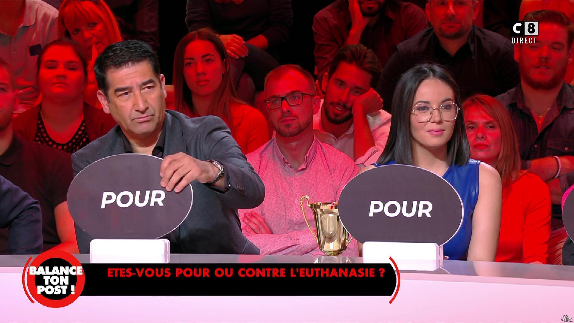 Agathe Auproux dans Balance ton Post. Diffusé à la télévision le 28/09/18.