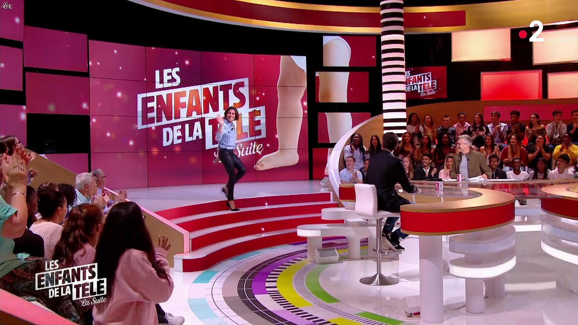 Alessandra Sublet dans les Enfants de la Télé. Diffusé à la télévision le 30/09/18.