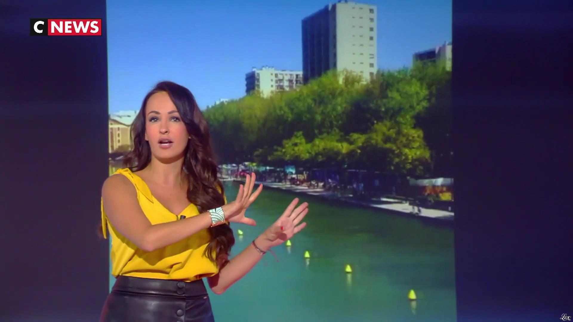 Alexandra Blanc dans la Matinale. Diffusé à la télévision le 03/09/18.