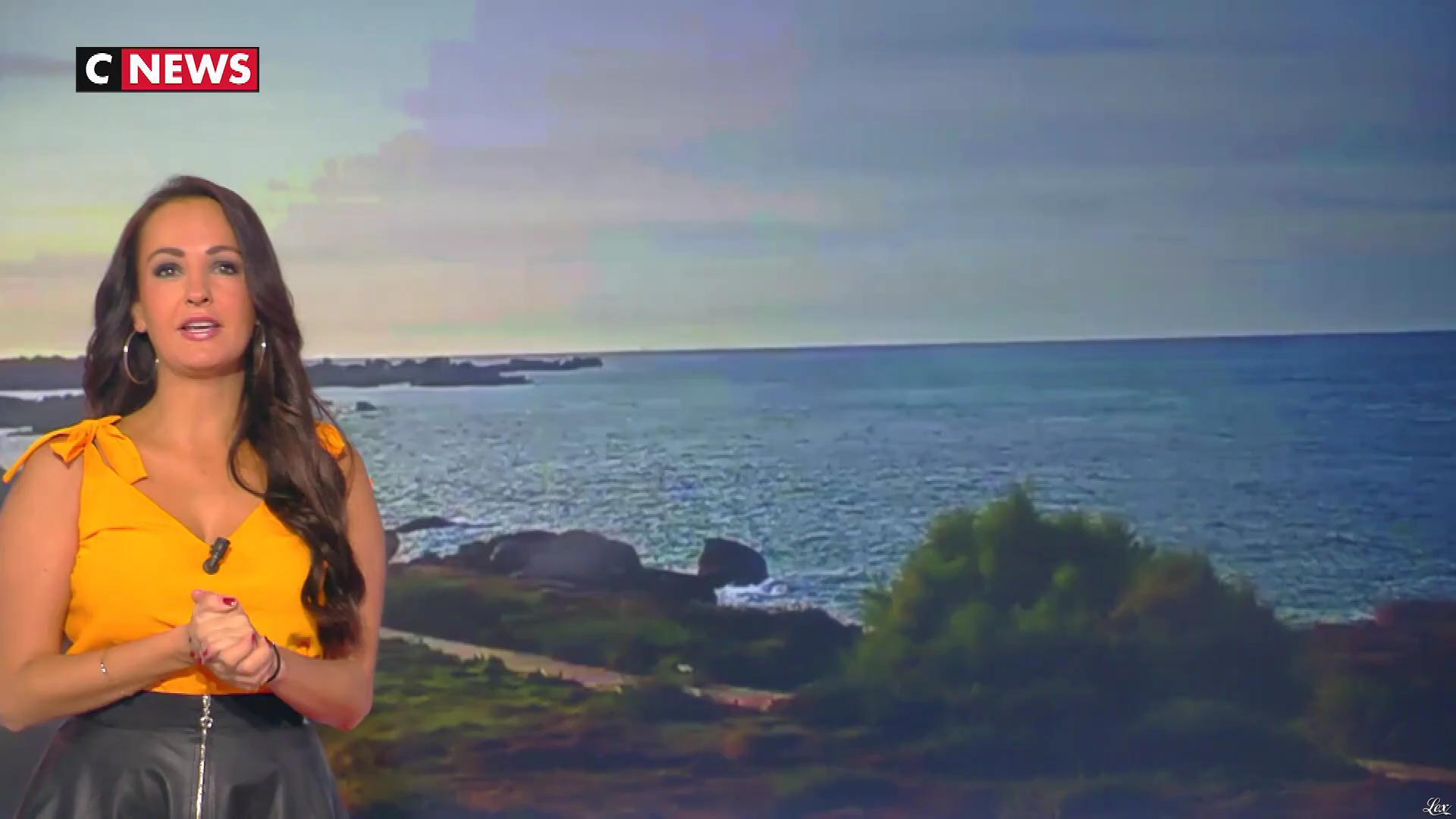 Alexandra Blanc dans la Matinale. Diffusé à la télévision le 08/10/18.