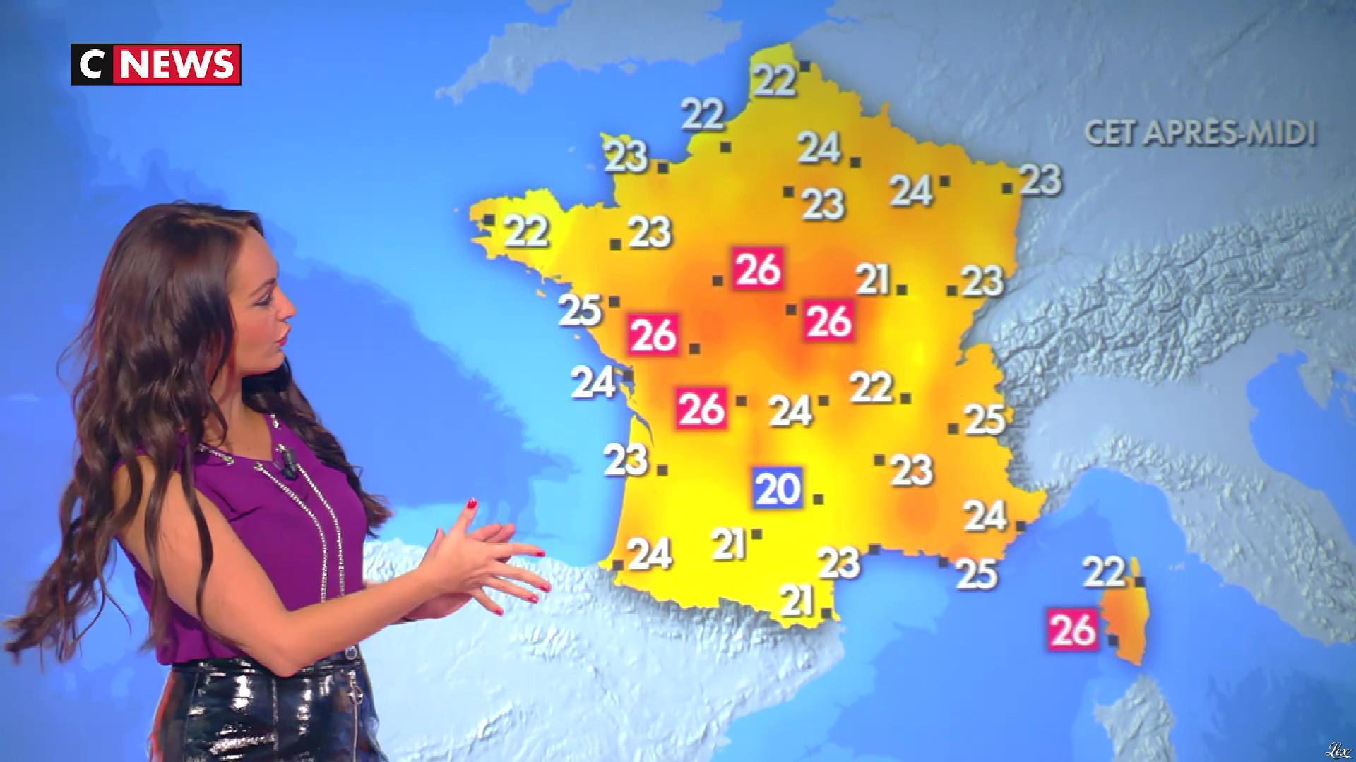 Alexandra Blanc dans la Matinale. Diffusé à la télévision le 09/10/18.