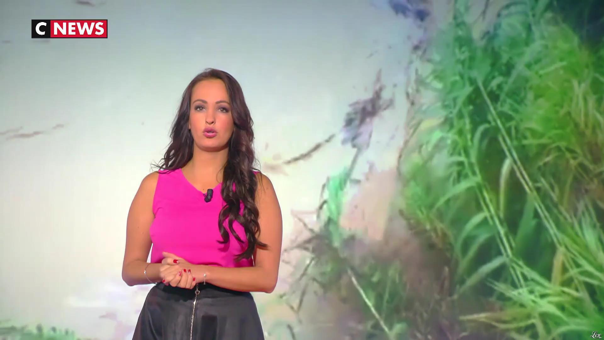 Alexandra Blanc dans la Matinale. Diffusé à la télévision le 10/10/18.