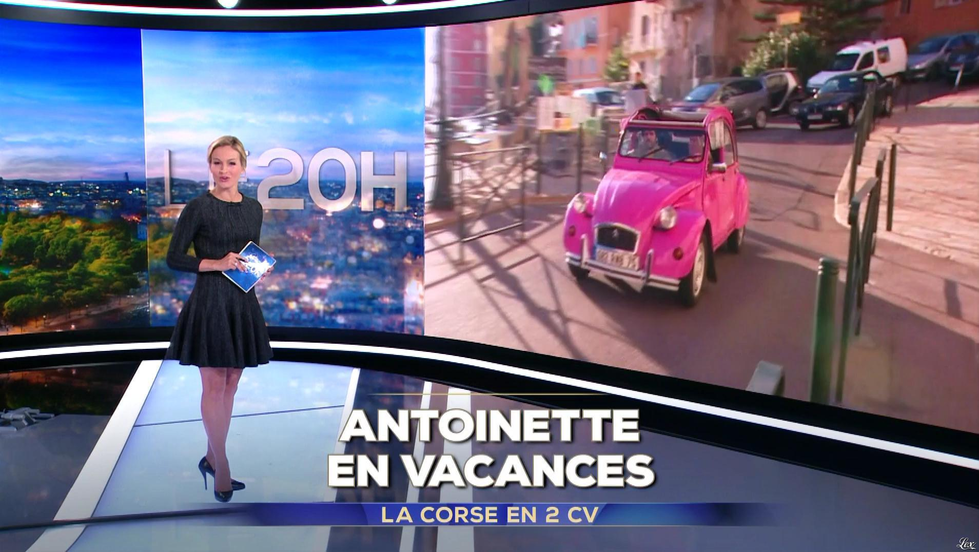 Audrey Crespo-Mara dans le 20h. Diffusé à la télévision le 26/10/18.