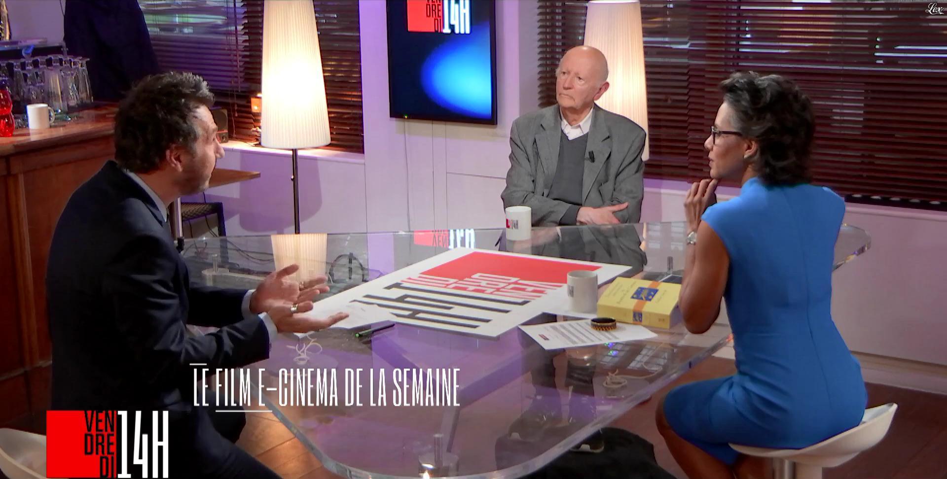 Audrey Pulvar dans Vendredi 14h. Diffusé à la télévision le 04/05/18.