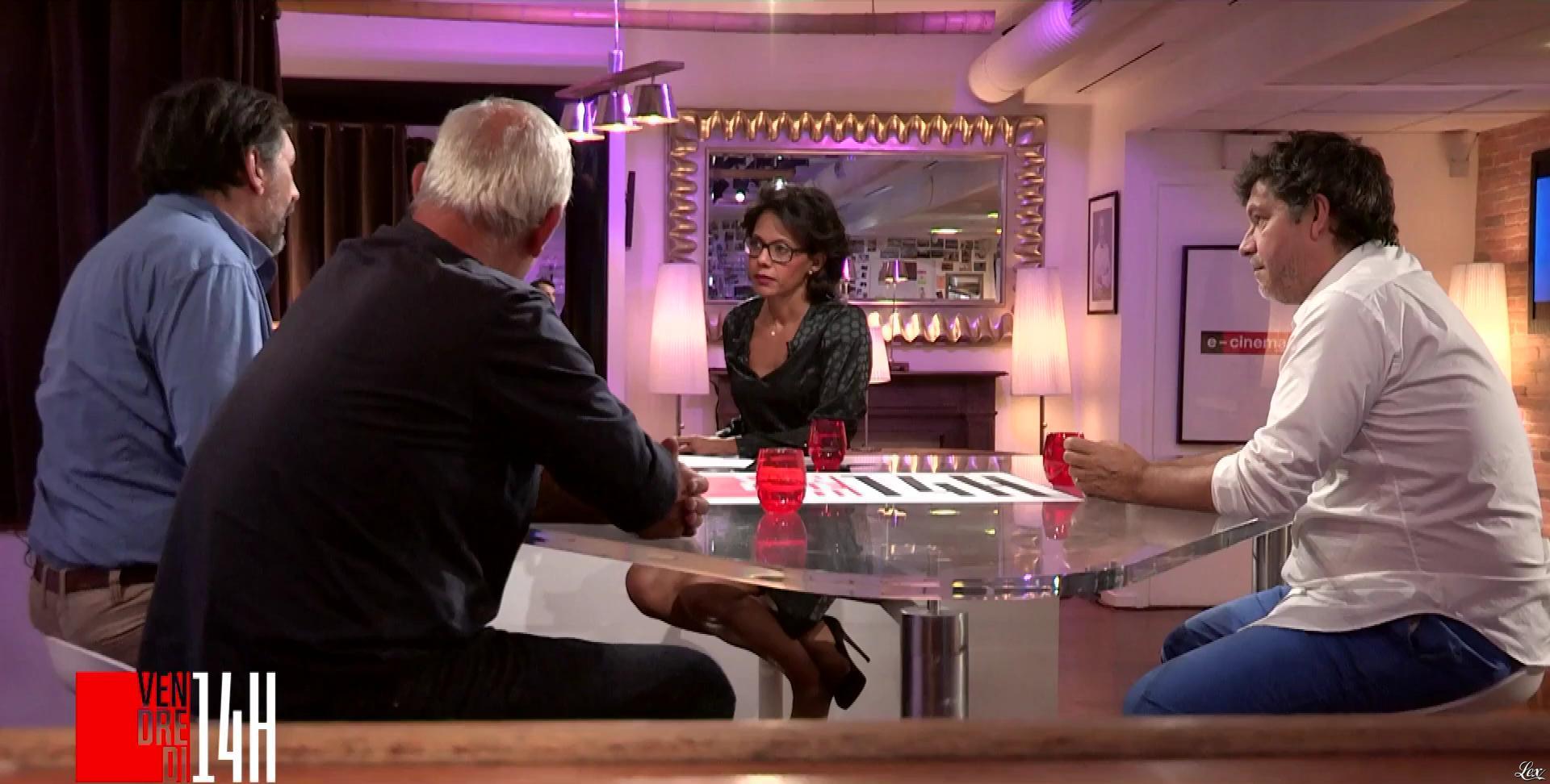 Audrey Pulvar dans Vendredi 14h. Diffusé à la télévision le 28/09/18.