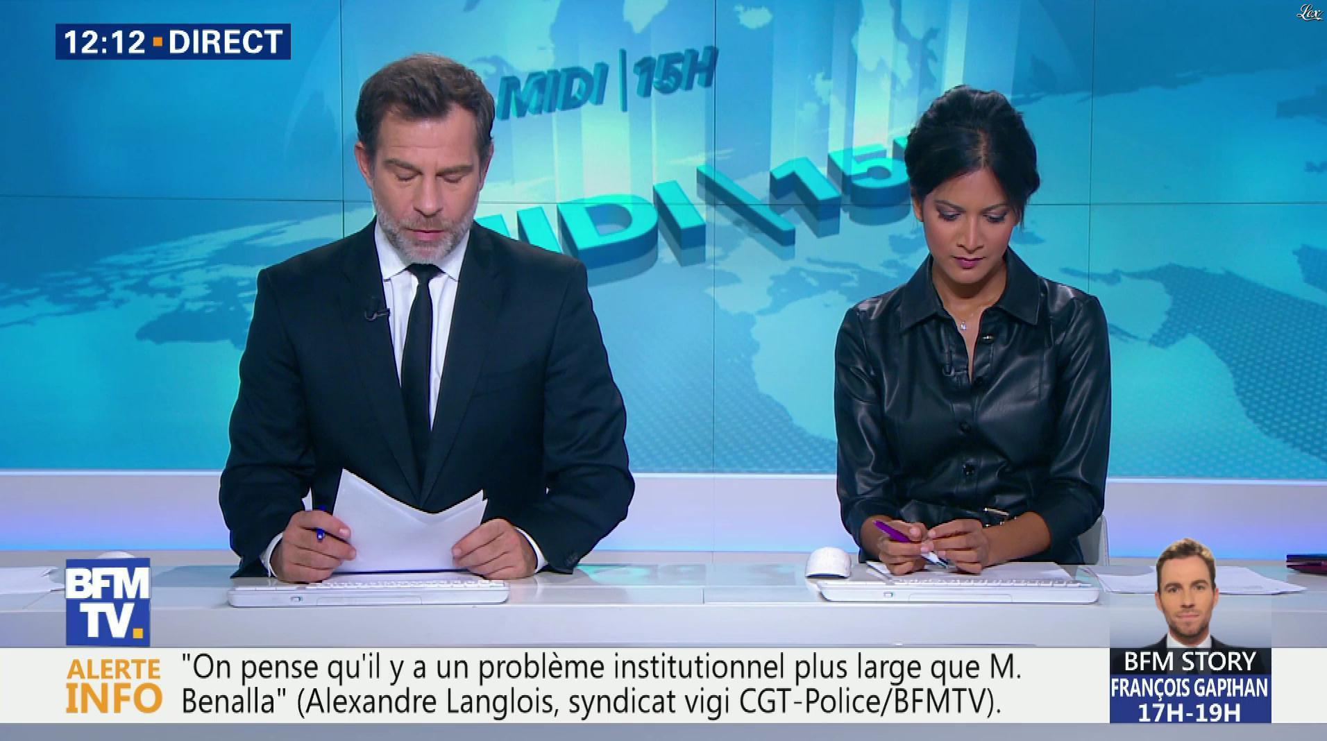 Aurélie Casse dans le Midi-15h. Diffusé à la télévision le 05/10/18.