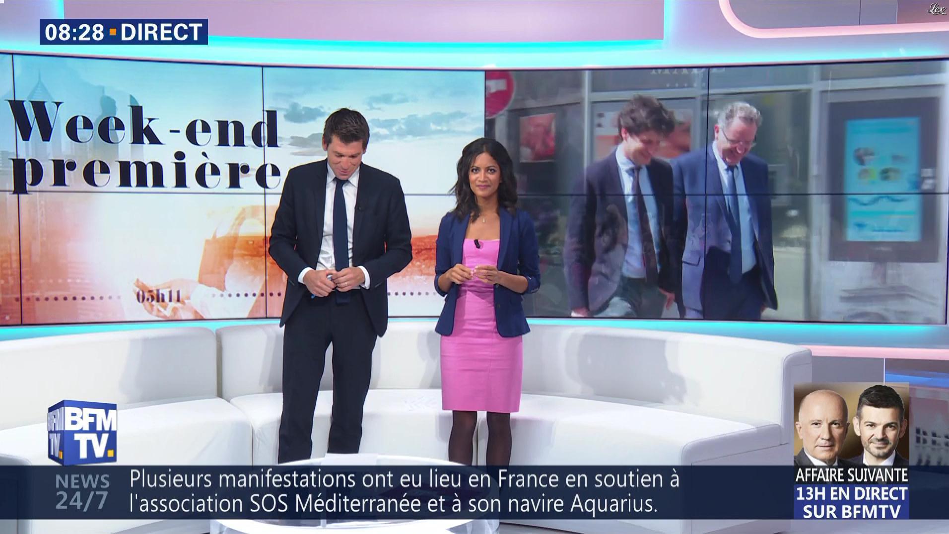 Aurélie Casse dans Week-End Première. Diffusé à la télévision le 07/10/18.