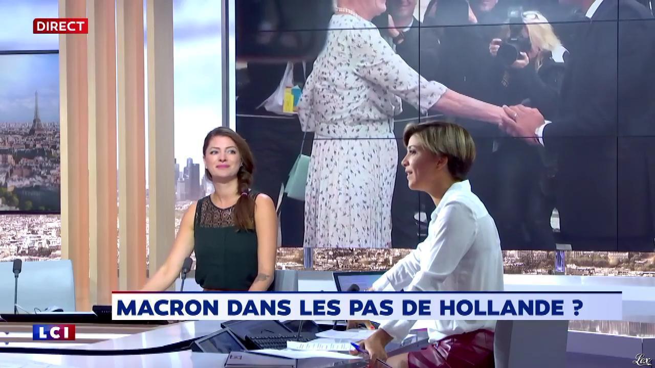 Bénédicte Le Chatelier dans le Brunch. Diffusé à la télévision le 02/09/18.