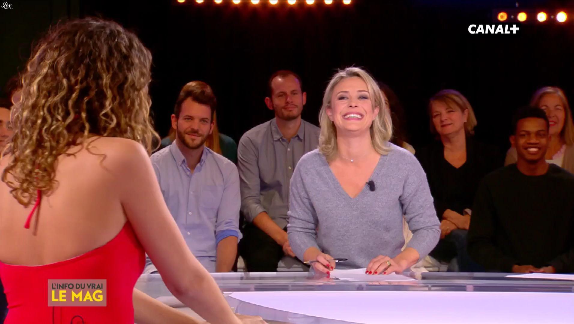 Camille Lavabre dans l'Info du Vrai. Diffusé à la télévision le 08/10/18.