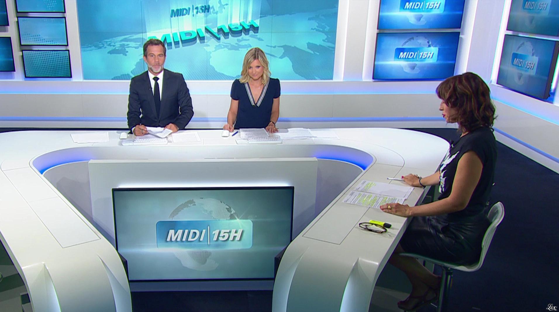 Candice Mahout dans le Midi-15h. Diffusé à la télévision le 07/09/18.