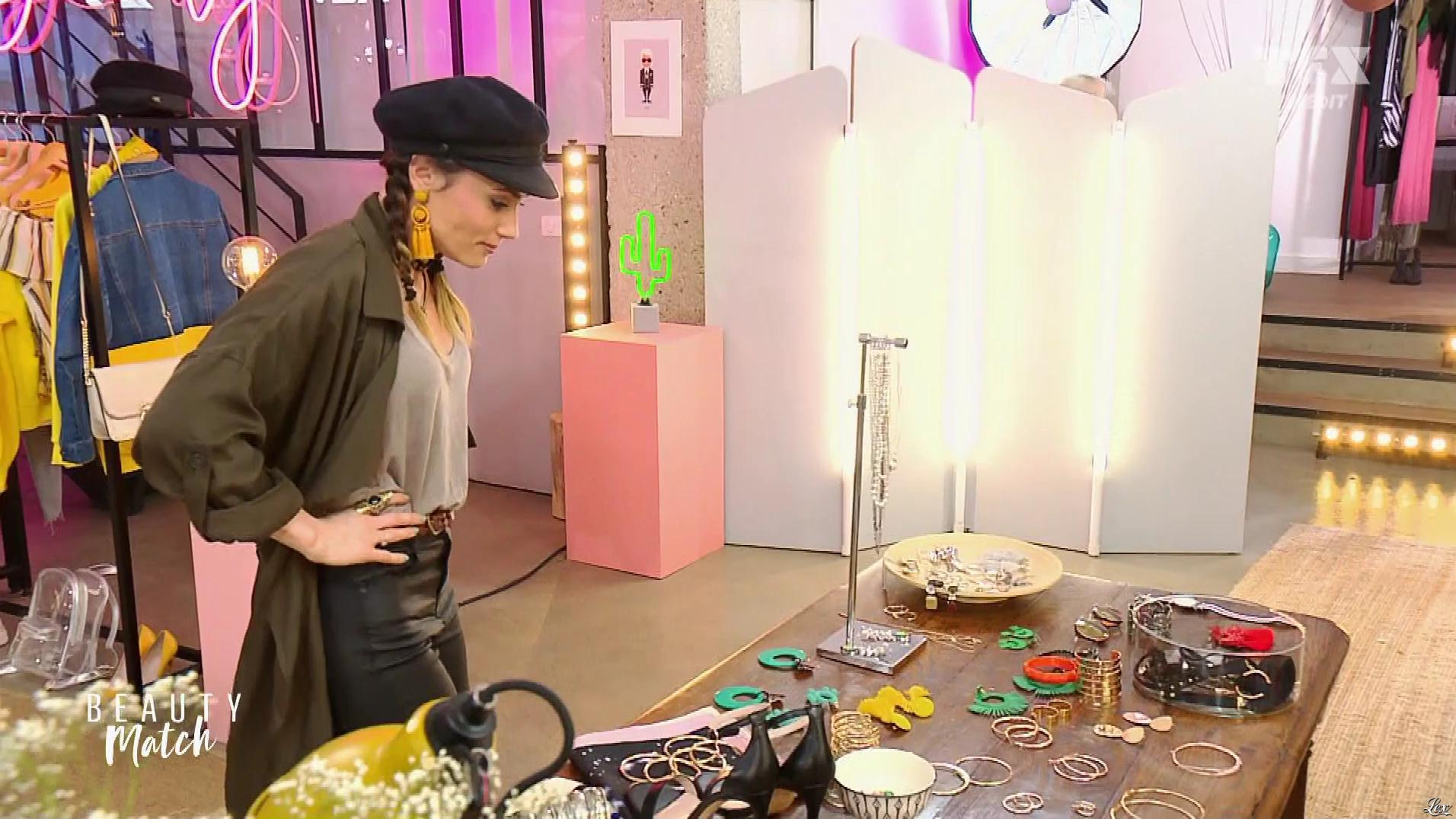 Capucine Anav dans Beauty Match. Diffusé à la télévision le 22/08/18.