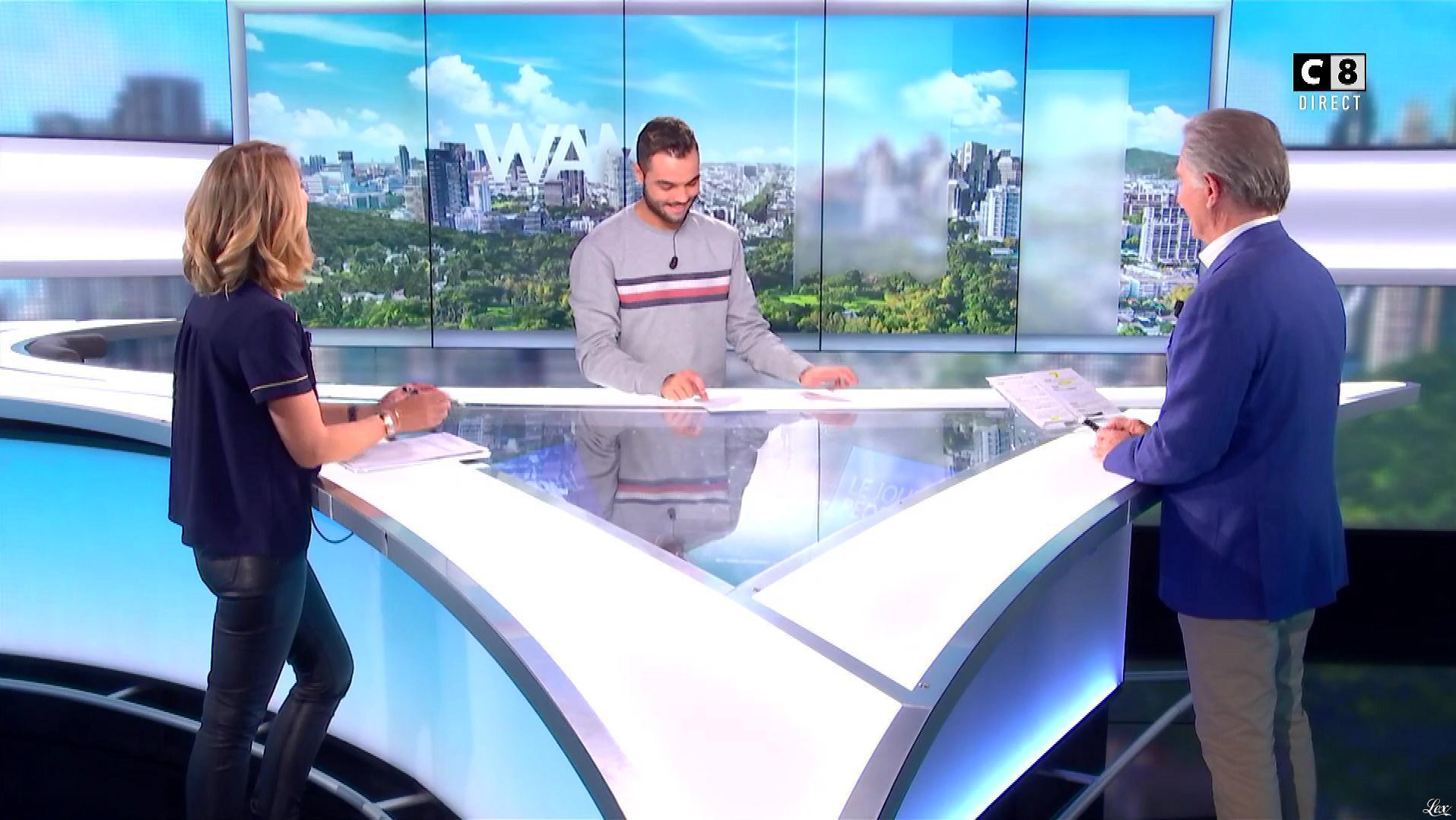 Caroline Delage dans William à Midi. Diffusé à la télévision le 09/10/18.