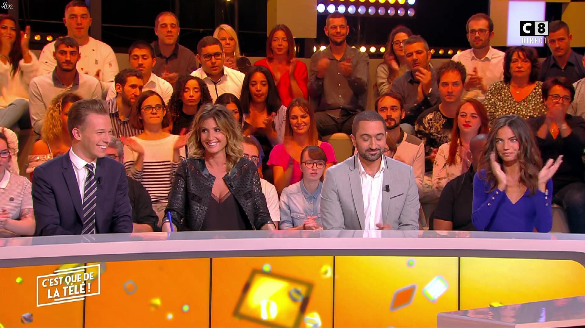 Caroline Ithurbide dans c'est Que de la Télé. Diffusé à la télévision le 01/10/18.