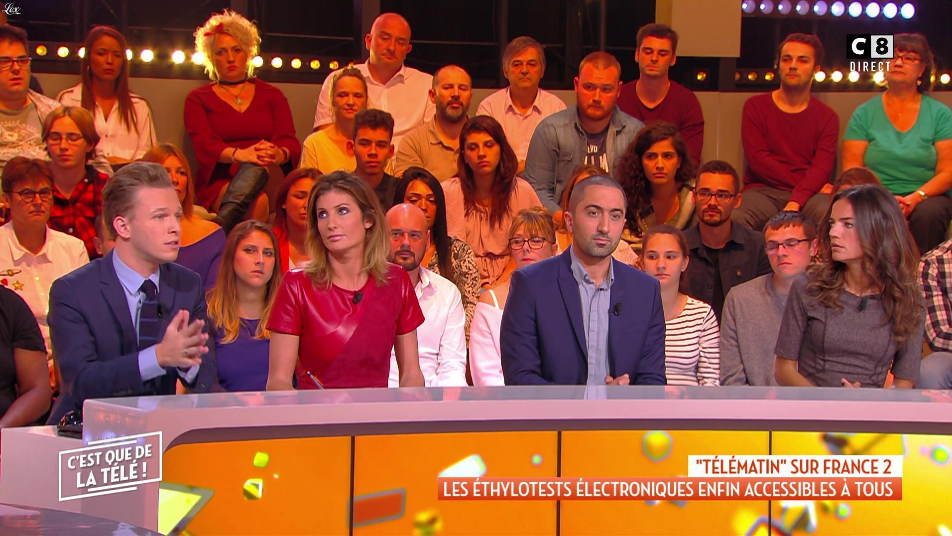 Caroline Ithurbide dans c'est Que de la Télé. Diffusé à la télévision le 08/10/18.