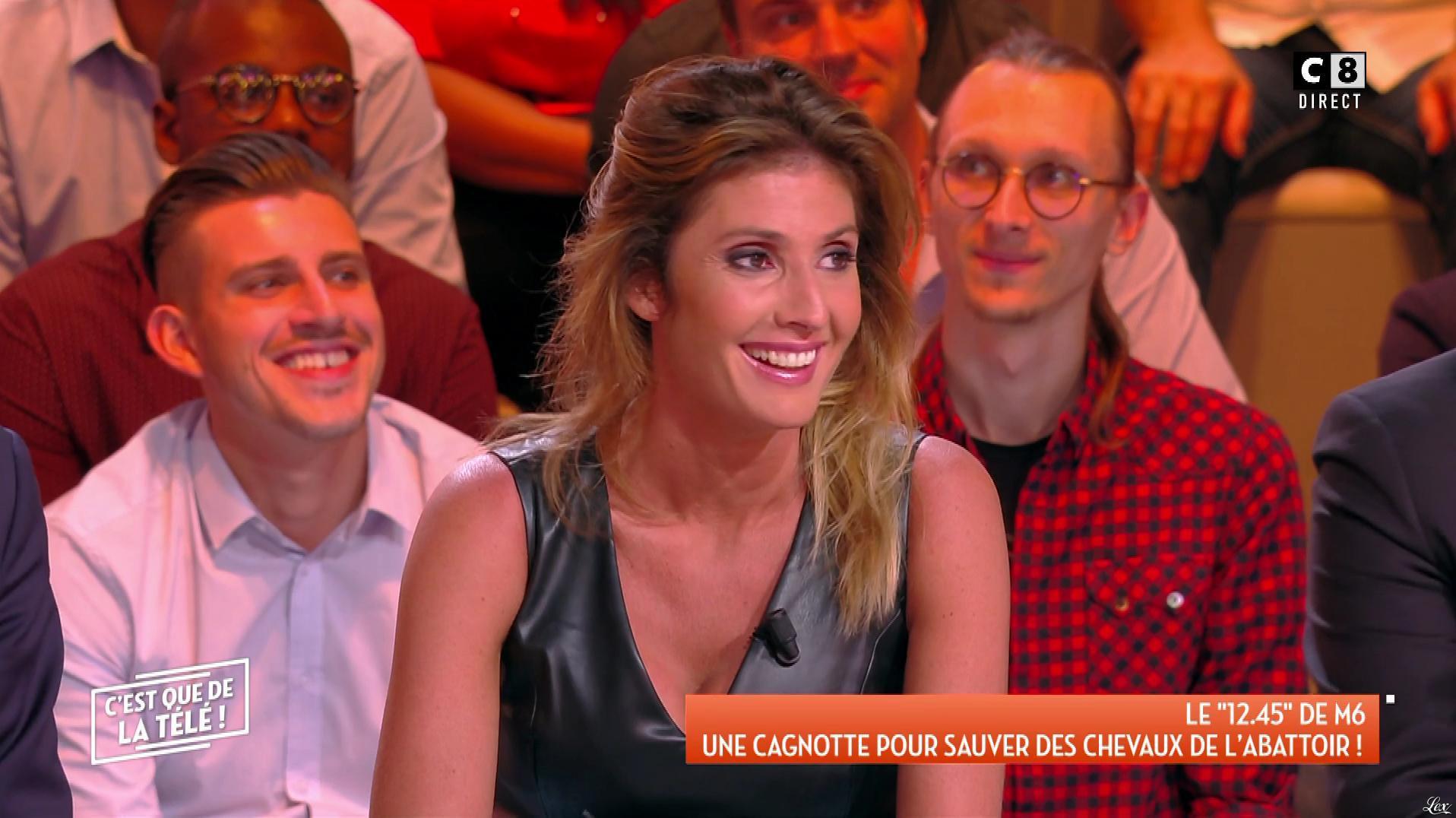 Caroline Ithurbide dans c'est Que de la Télé. Diffusé à la télévision le 20/09/18.