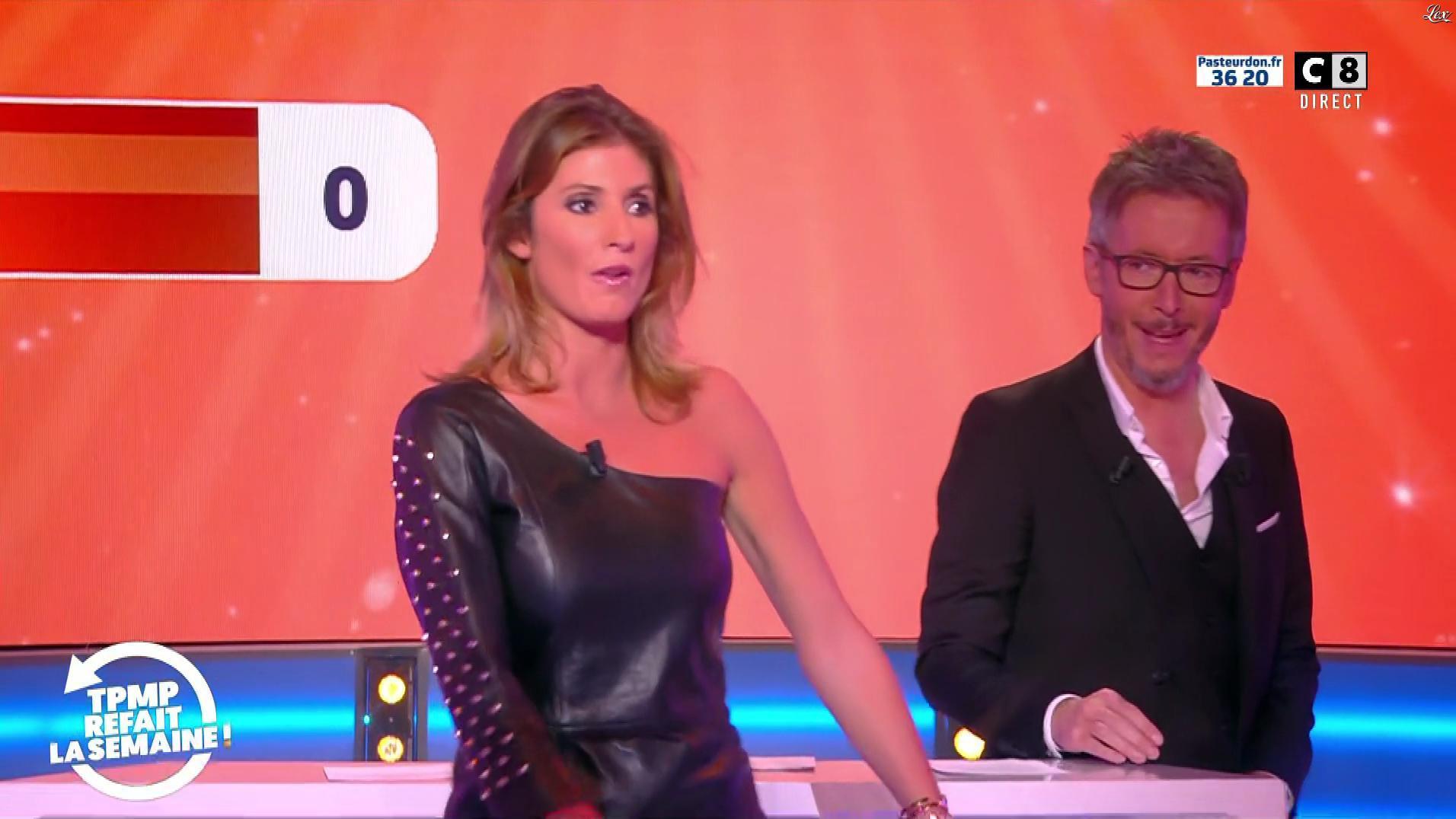 Caroline Ithurbide dans TPMP Refait la Semaine. Diffusé à la télévision le 12/10/18.