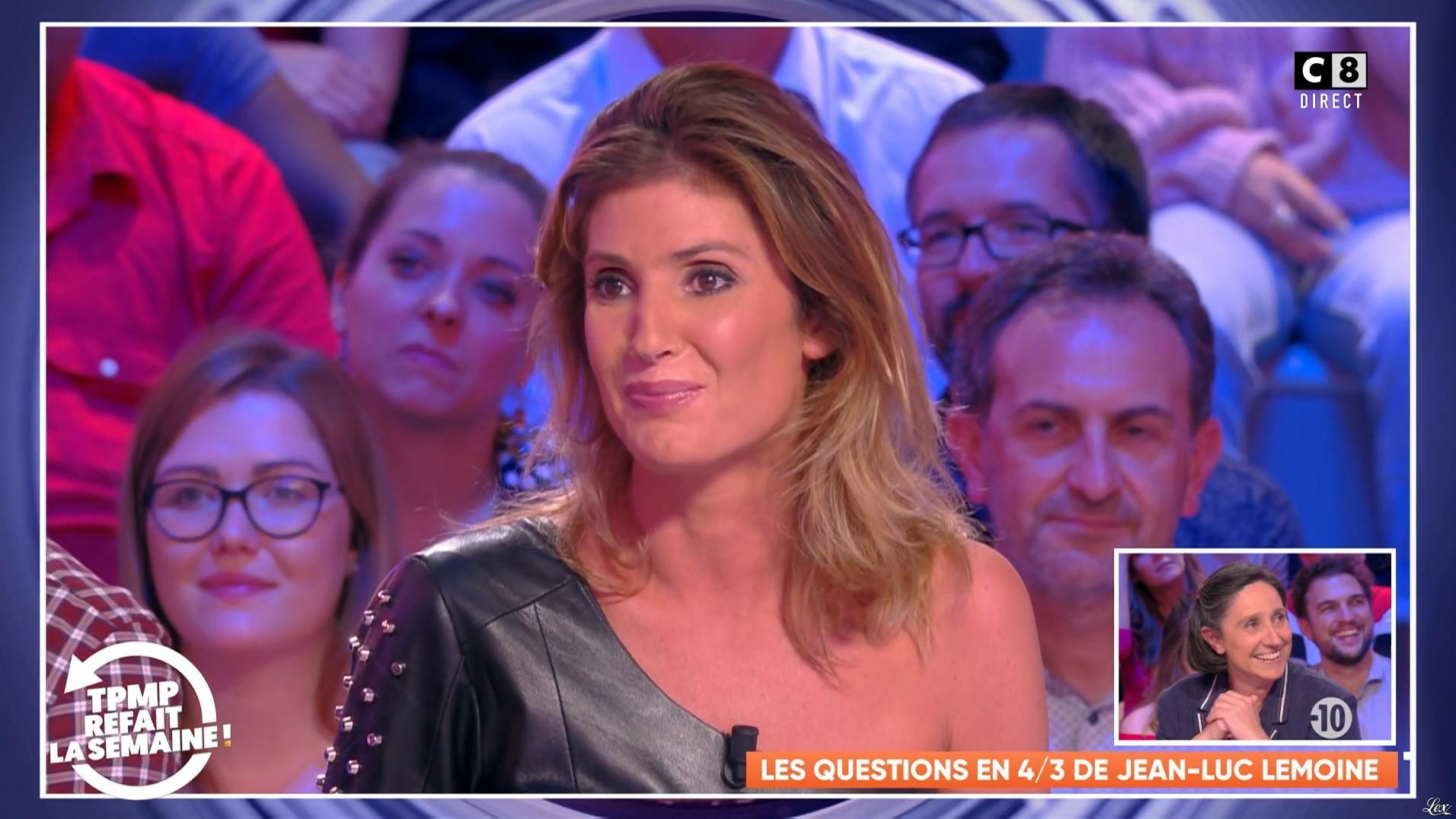 Caroline Ithurbide dans TPMP Refait la Semaine. Diffusé à la télévision le 26/10/18.