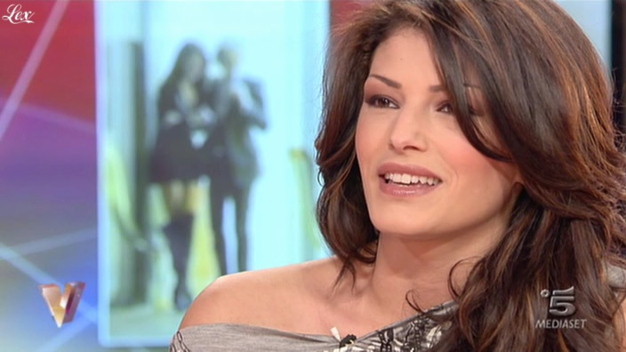MoniÇa Riva dans Verissimo. Diffusé à la télévision le 05/02/11.