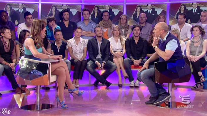 Silvia Toffanin dans Verissimo. Diffusé à la télévision le 07/05/11.