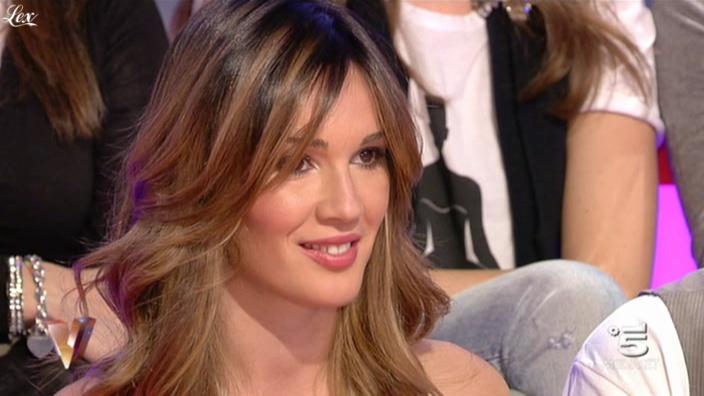 Silvia Toffanin dans Verissimo. Diffusé à la télévision le 13/11/10.