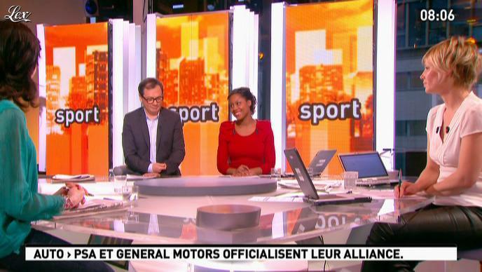 Maïtena Biraben dans la Matinale. Diffusé à la télévision le 01/03/12.
