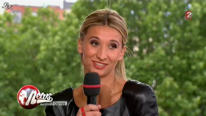 Tatiana Golovin dans le Petit Journal. Diffusé à la télévision le 11/06/12.