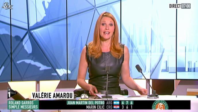 Valérie Amarou sur i-Télé. Diffusé à la télévision le 02/06/12.