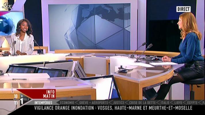 Valérie Amarou sur i-Télé. Diffusé à la télévision le 17/12/11.
