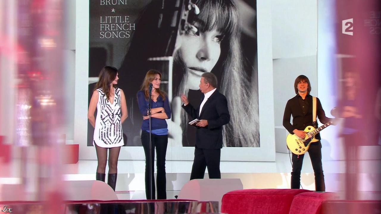 Héléna Noguerra dans Vivement Dimanche. Diffusé à la télévision le 29/09/13.