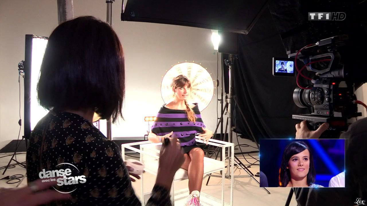 Laetitia Milot dans Danse Avec les Stars. Diffusé à la télévision le 05/10/13.