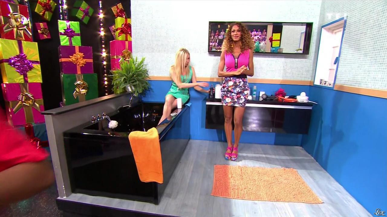 Les Gafettes, Doris Rouesne et Nadia Aydanne dans le Juste Prix. Diffusé à la télévision le 04/10/13.