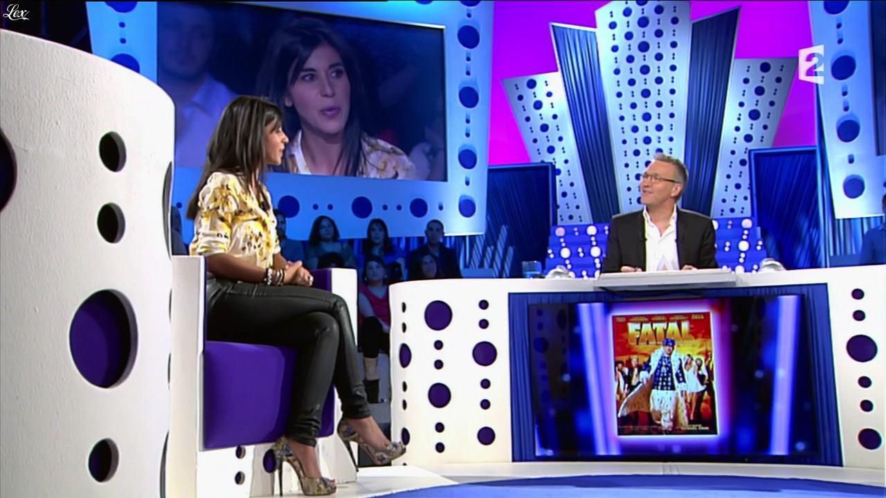 Reem Kherici dans On n'est pas Couché. Diffusé à la télévision le 29/06/13.