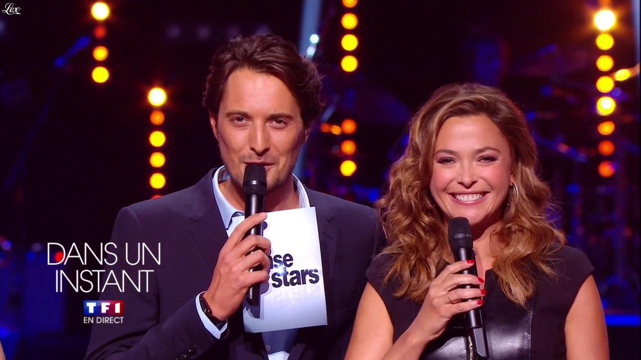 Sandrine Quétier dans Danse Avec les Stars. Diffusé à la télévision le 05/10/13.
