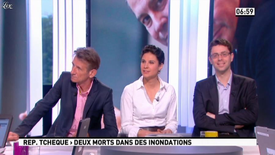 Apolline De Malherbe dans la Matinale. Diffusé à la télévision le 03/06/13.
