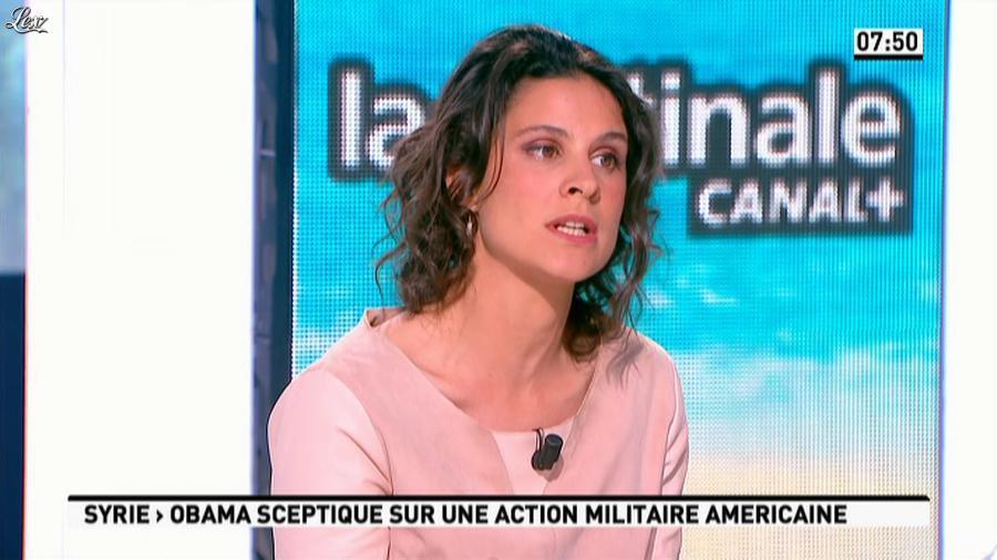 Apolline De Malherbe dans la Matinale. Diffusé à la télévision le 18/06/13.