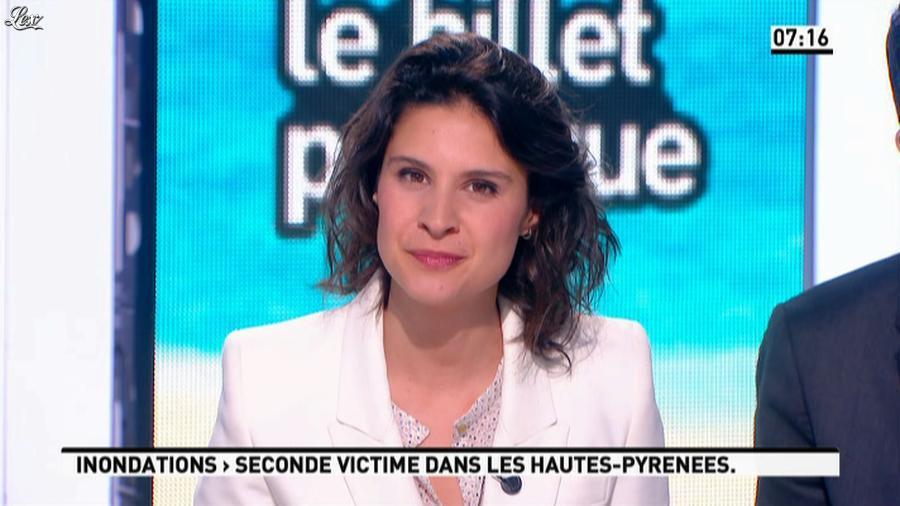 Apolline De Malherbe dans la Matinale. Diffusé à la télévision le 20/06/13.
