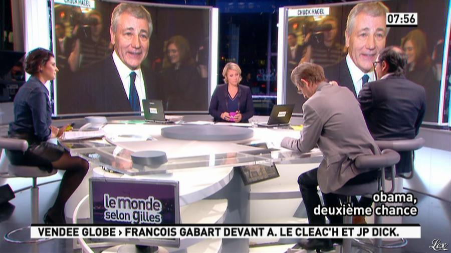 Apolline De Malherbe dans la Matinale. Diffusé à la télévision le 21/01/13.