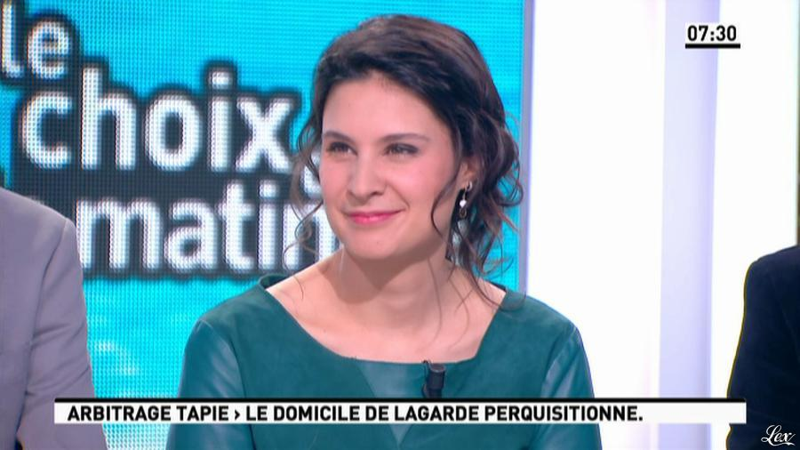 Apolline De Malherbe dans la Matinale. Diffusé à la télévision le 21/03/13.