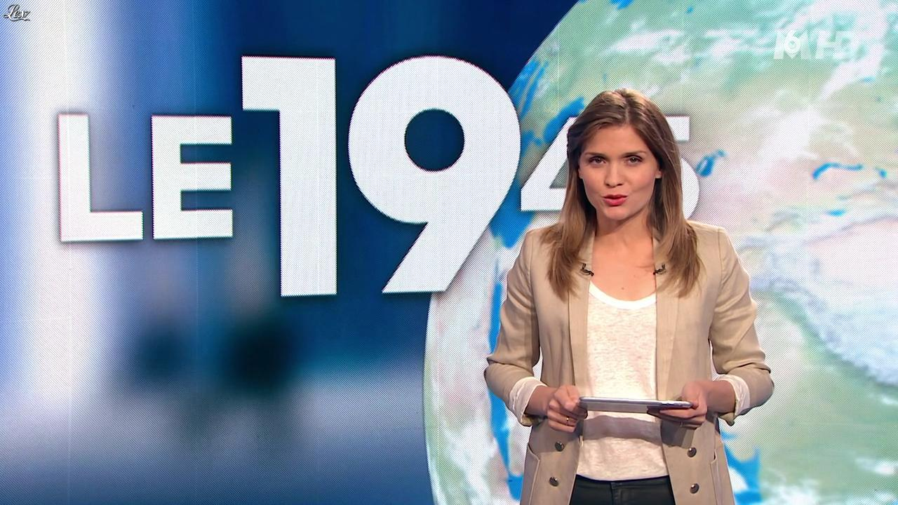 Karelle Ternier dans le 19-45. Diffusé à la télévision le 17/08/14.