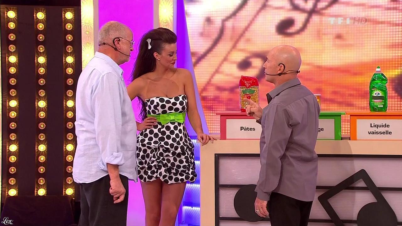 Fanny Veyrac dans le Juste Prix. Diffusé à la télévision le 01/02/11.