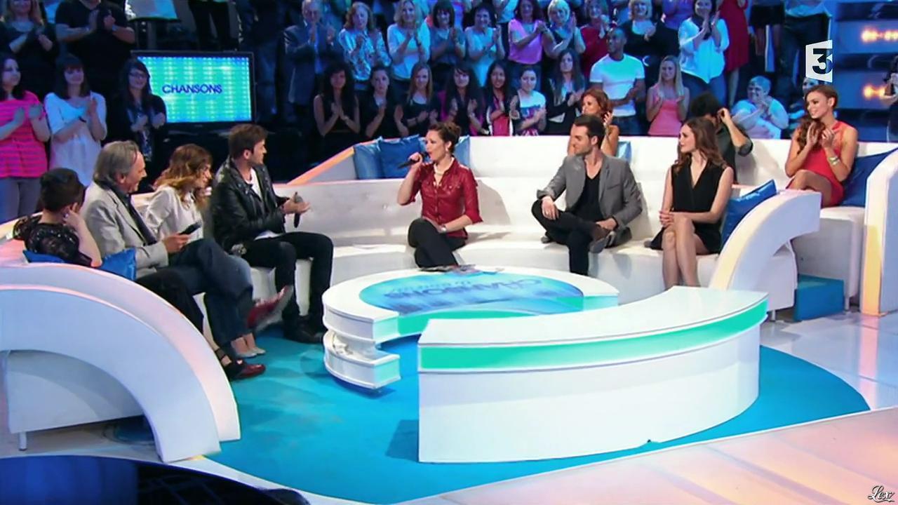 Natasha St Pier, Camille Lou et Alexandra Maquet dans les Chansons d'Abord. Diffusé à la télévision le 14/05/14.