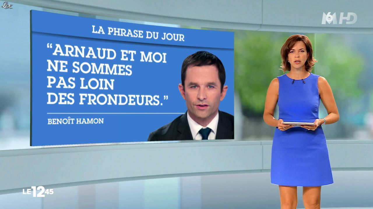Nathalie Renoux dans le 12-45. Diffusé à la télévision le 24/08/14.