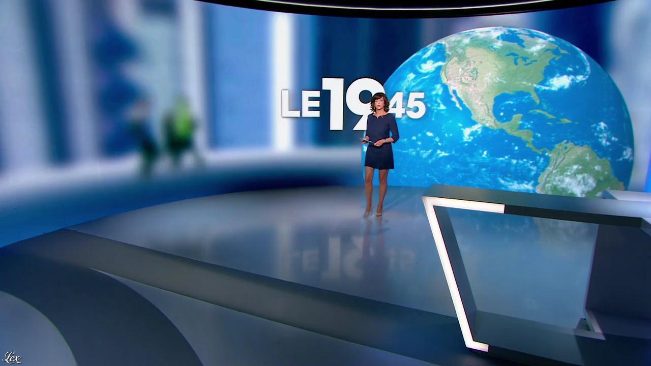 Nathalie Renoux dans le 19-45. Diffusé à la télévision le 26/09/14.