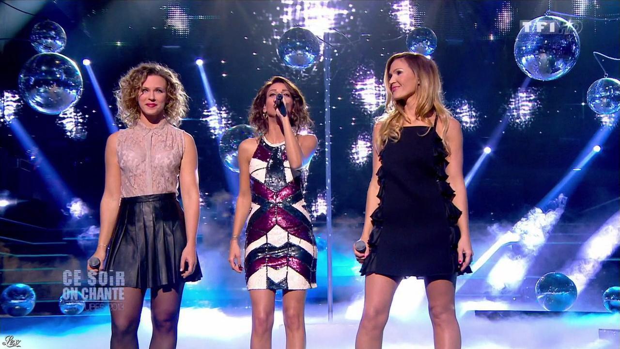 Tal, Lorie et Vitaa dans Ce Soir On Chante. Diffusé à la télévision le 03/01/14.