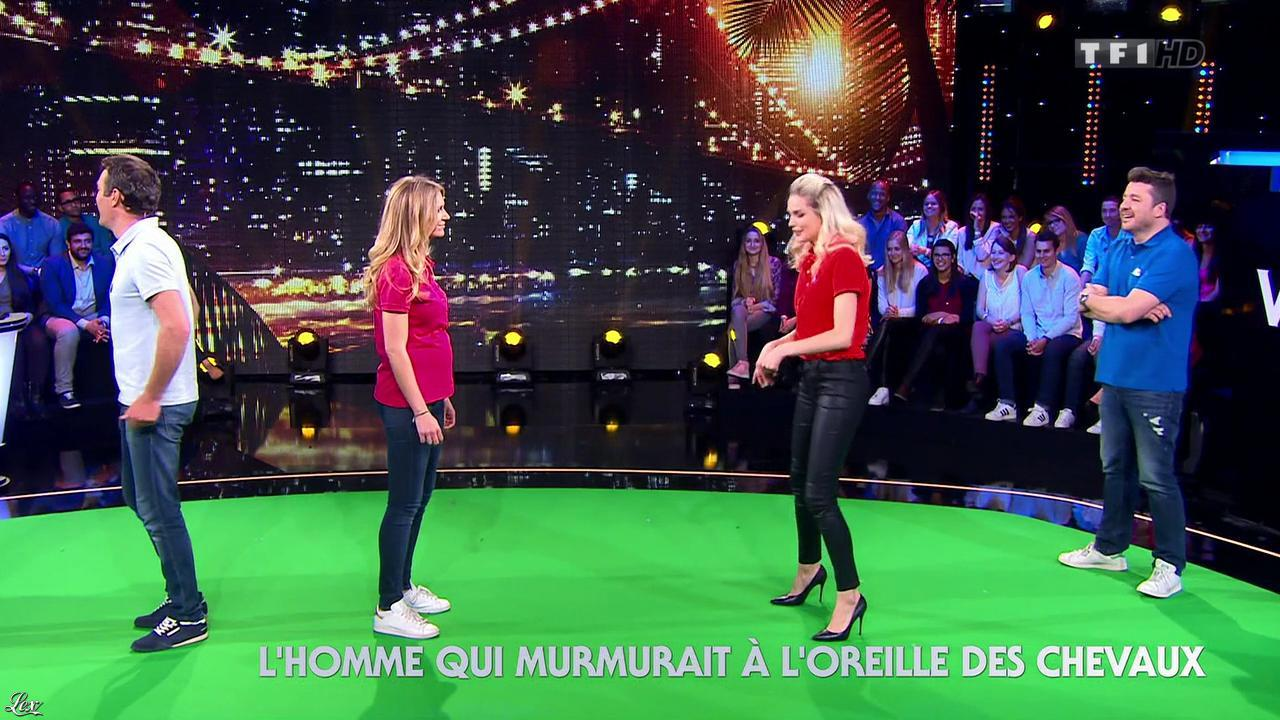 Camille Lou dans Ce Soir Tout Est Permis. Diffusé à la télévision le 07/08/15.